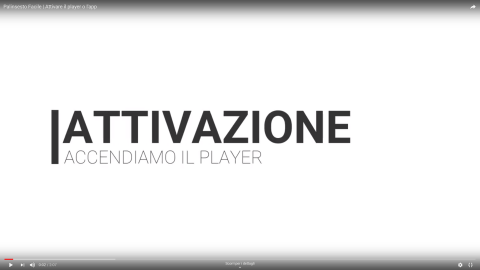 Attivazione software digital signage